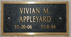 Vivian Mae <i>Rich</i> Appleyard