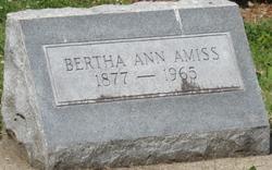 Bertha Ann Amiss