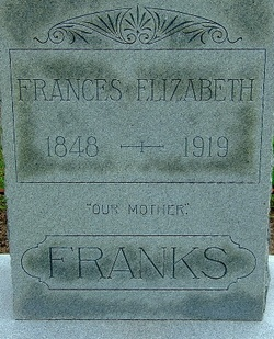 Frances Elizabeth <i>Cochran</i> Franks