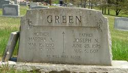 Martha Anne <i>Stinnett</i> Green