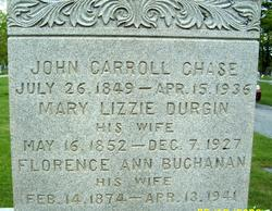 Mary Lizzie <i>Durgin</i> Chase