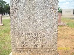 Katherine V <i>Crow</i> Martin