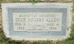Dece <i>Rogers</i> Allen