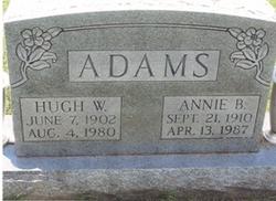 Annie Blanche <i>Newcomb</i> Adams