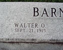 Walter Owen Barnhart