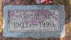 Abigal Augusta Abbie <i>Merchant</i> Alley