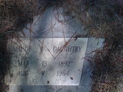 Maude B Daughtry