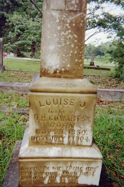 Louise J. <i>Whittington</i> Cowart