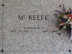 Katherine E McKeefe