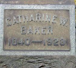 Catharine <i>Warren</i> Baker