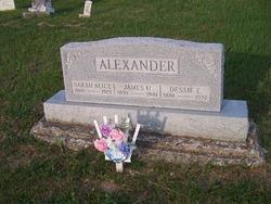 Sarah Alice <i>Stump</i> Alexander