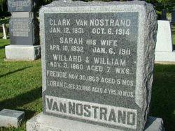 Sarah <i>Whiting</i> Van Nostrand