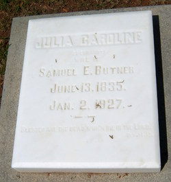 Julia Caroline <i>Eberhardt</i> Butner