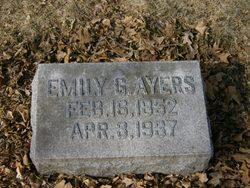 Emily G. <i>Tozer</i> Ayers