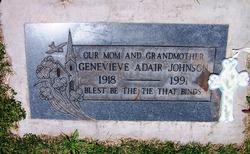 Genevieve <i>Adair</i> Johnson