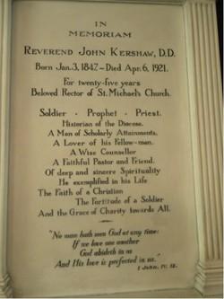 Rev John Kershaw