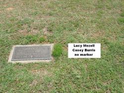 Lucy Mozell <i>Casey</i> Burris