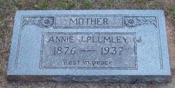 Annie Jane <i>Umberger</i> Plumley