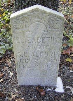 Elizabeth <i>Mincy</i> Alford