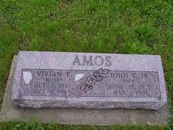Vivian Francis Betsy <i>Wetmore</i> Amos