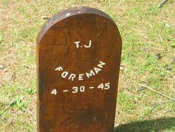 Joselyn Trevanian 'Joe' Foreman