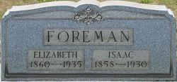 Isaac Foreman