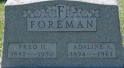 Fred Henry Foreman