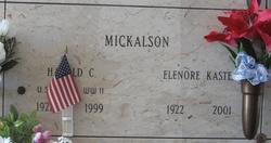 Harold C Mickalson