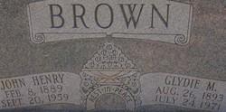 Glydie M. Brown