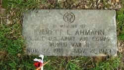 Everett Louis Bussie Ahmann