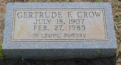 Gertrude F Crow