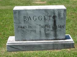 Jimmie Mae <i>Van Sant</i> Baggett
