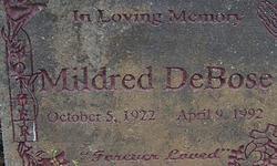 Mildred DeBose