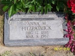 Anna <i>Vogelsang</i> Fitzpatrick
