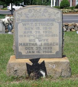 Martha J <i>Roach</i> Sturgis