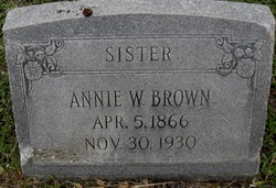 Annie <i>Wimbley</i> Brown