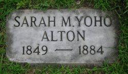 Sarah Malissa <i>Yoho</i> Alton