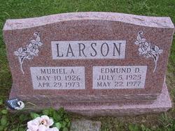 Muriel Avis <i>Olmstead</i> Larson