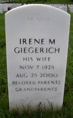 Irene M. <i>Schroer</i> Giegerich