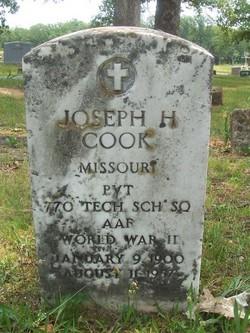 Pvt Joseph H. Cook