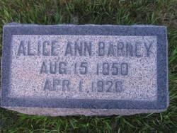 Alice Ann Barney