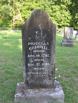 Priscilla <i>Parker</i> Chappell