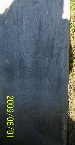 Mahulda Ann <i>Winters</i> Duncan