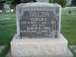 Sarah Charlotte <i>York</i> Taylor