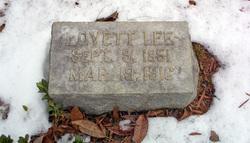Lovett Lee