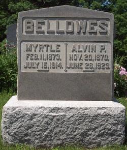 Myrtle M <i>Boyd</i> Bellows