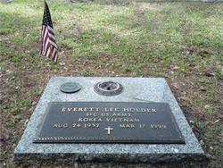Sgt Everett Lee Holder