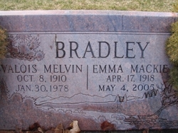 Emma Virginia <i>Mackie</i> Bradley
