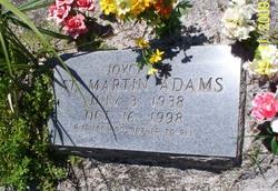 Joyce M <i>St. Martin</i> Adams