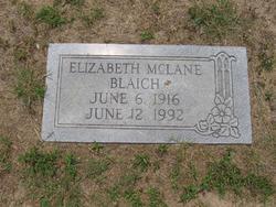 Elizabeth <i>McLane</i> Blaich